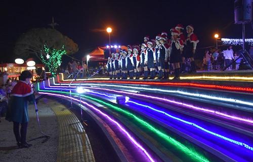 2019クリスマスイルミネーション点灯式 - 与那古浜公園